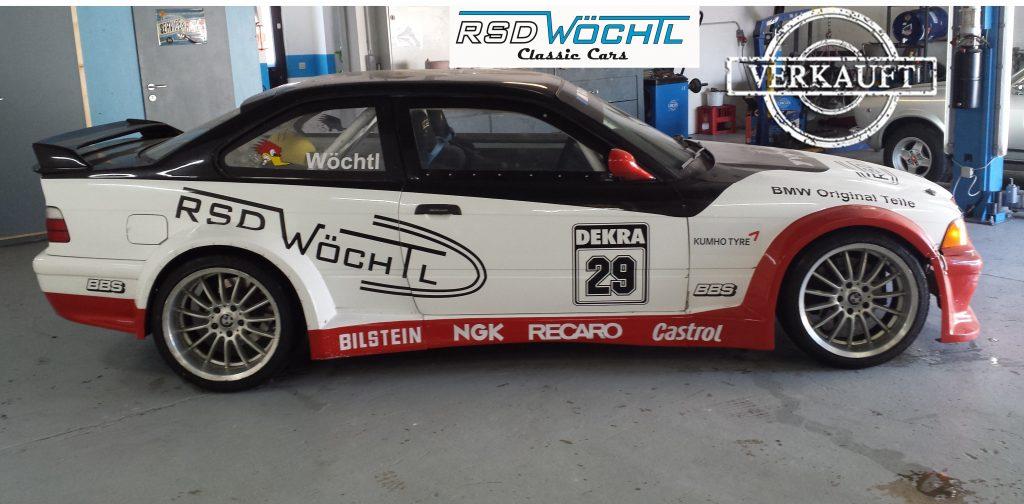 BMW e36 GT-R V8 Rennwagen