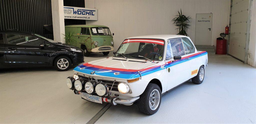 BMW 2002 ti Rallyewagen