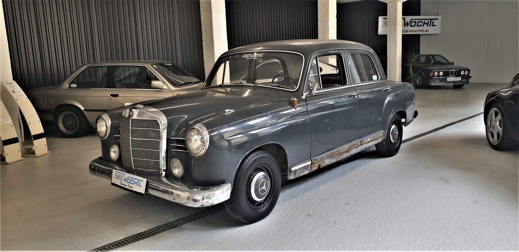 Mercedes 190 Db aus 1961 Restaurationsobjekt