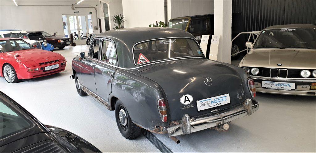 Mercedes 190 Db Restaurationsobjekt