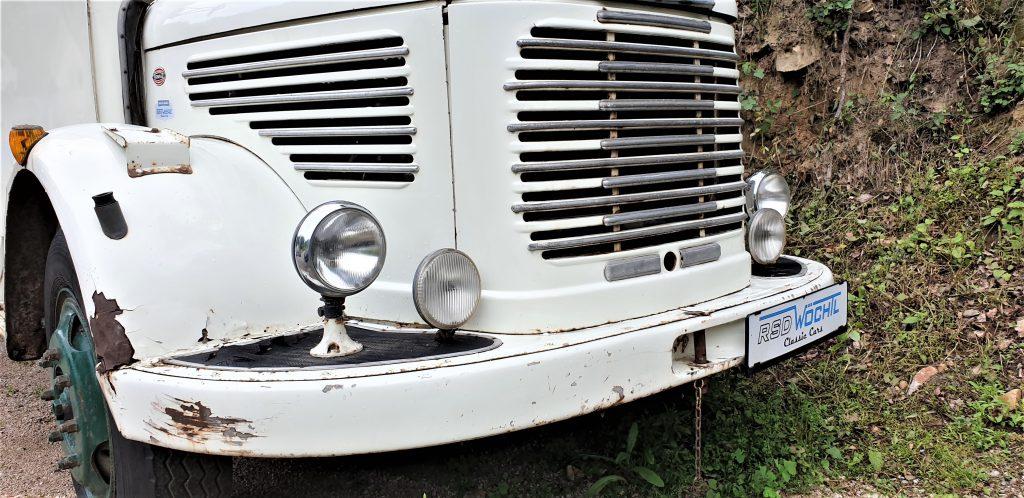 """Steyr 380 F aus 1964 """"Möbel Leiner"""""""