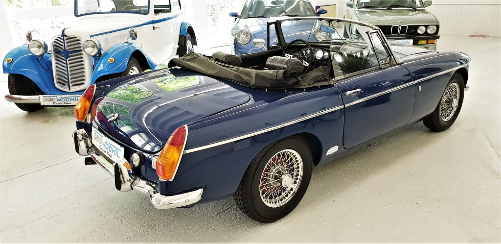MG – B aus 1970