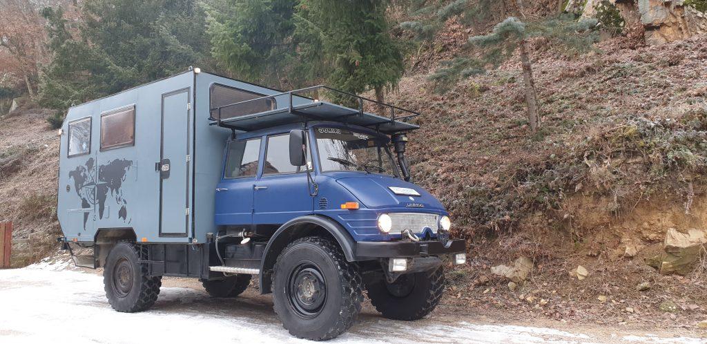 Mercedes Unimog Offroad Camper