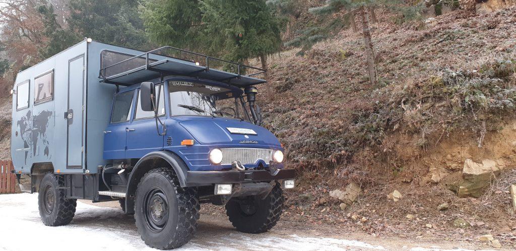 Mercedes Unimog Offroadcamper