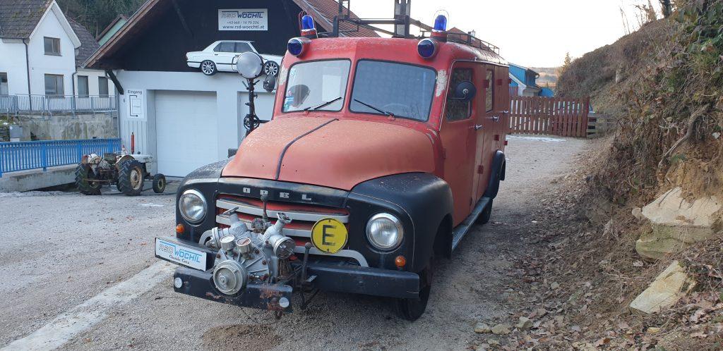 Opel Blitz FF 1958